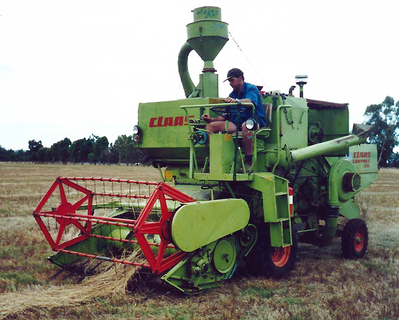 2005 Plot Harvester