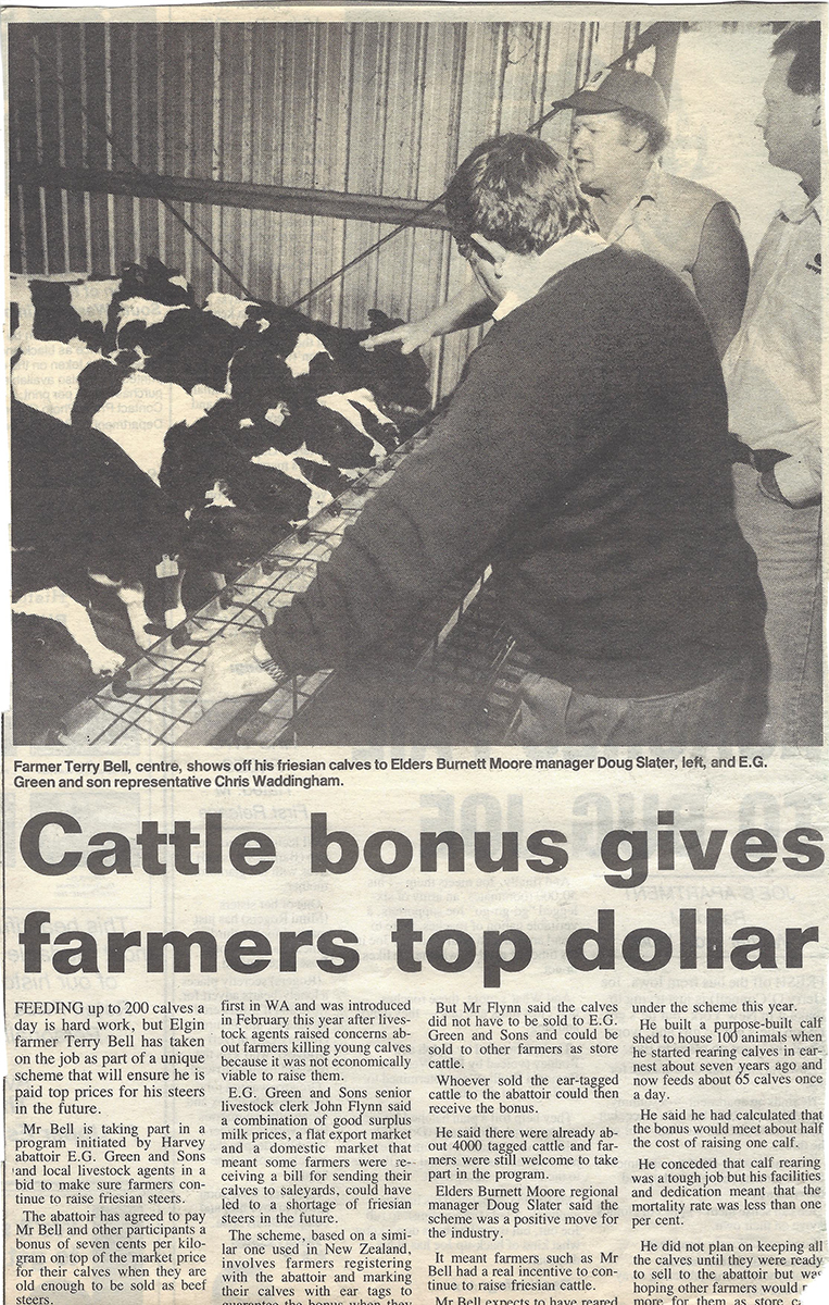 Cattle Bonus Gives Farmers Top Dollar